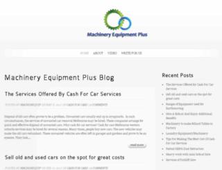 machineryequipmentplus.com screenshot