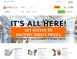 machinerygenie.com screenshot