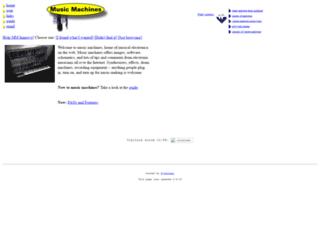 machines.hyperreal.org screenshot