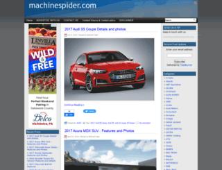 machinespider.com screenshot