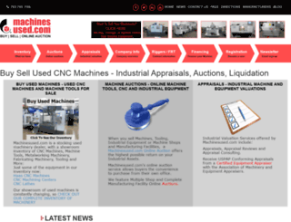 machinesused.com screenshot