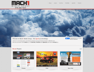 machonemediagroup.com screenshot