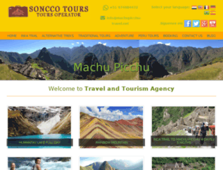 machupicchu-travel.net screenshot