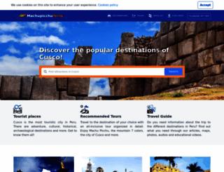 machupicchuterra.com screenshot