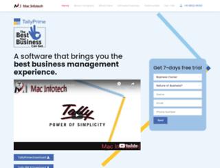 macinfotech.in screenshot