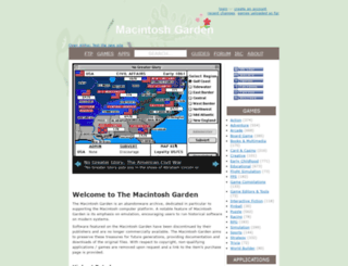 macintoshgarden.org screenshot