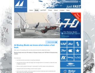 mackayboats.com screenshot