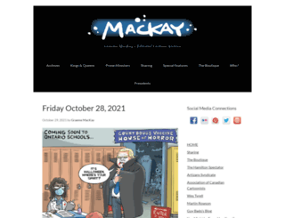 mackaycartoons.net screenshot