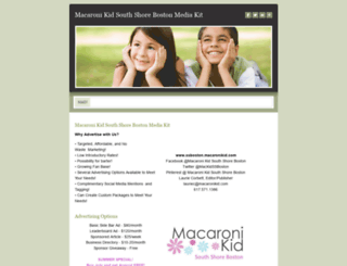 mackidssboston.weebly.com screenshot