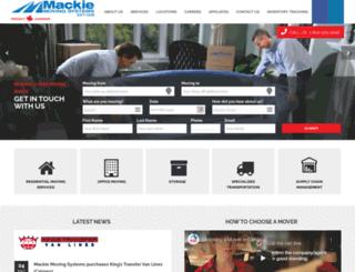 mackiegroup.com screenshot