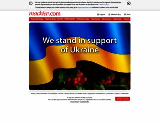 mackiev.com screenshot