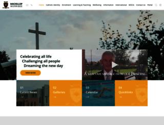 mackillopwerribee.com.au screenshot