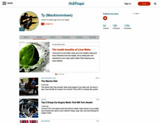 mackinreviews.hubpages.com screenshot