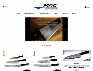 macknife.com screenshot