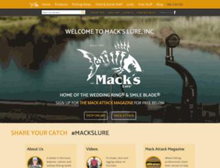 mackslure.com screenshot
