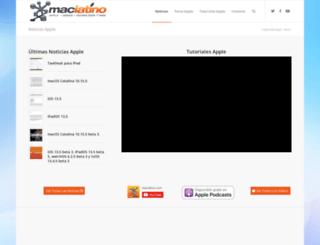 maclatino.com screenshot