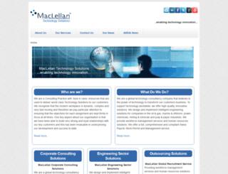 maclellantechnology.com screenshot