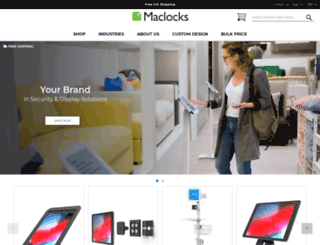 maclocks.co.uk screenshot