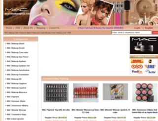 macmakeupkit.com screenshot