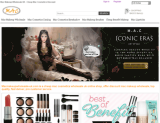macmakeupwholesale-uk.com screenshot