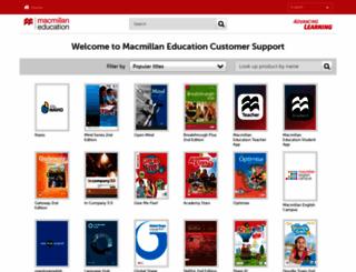 macmillandictionaries.com screenshot