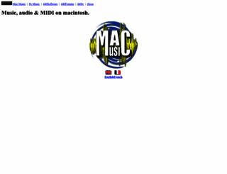 macmusic.org screenshot
