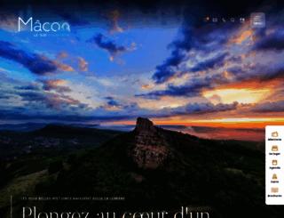 macon-tourism.com screenshot
