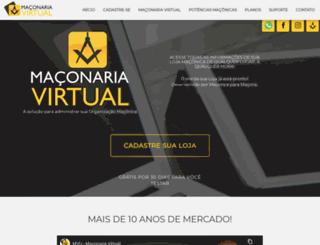 maconariavirtual.com.br screenshot