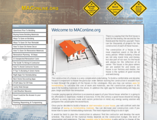 maconline.org screenshot