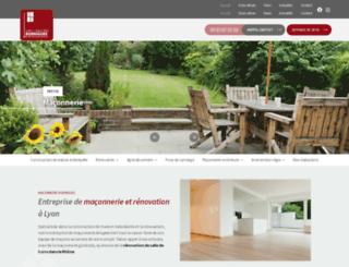 maconnerie-rodrigues-lyon.fr screenshot