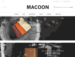 macooncase.com screenshot