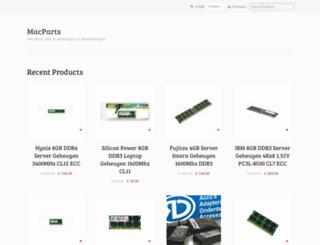 macparts.nl screenshot