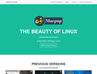 macpup.org screenshot