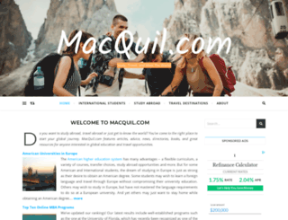 macquil.com screenshot