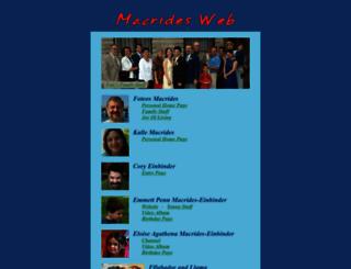 macridesweb.com screenshot