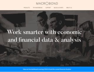 macrobondfinancial.com screenshot