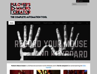 macrocreator.com screenshot