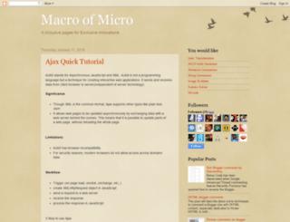 macrolayer.blogspot.com screenshot