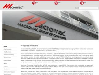 macromac.biz screenshot