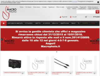 macrophoto.it screenshot