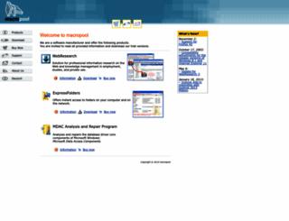 macropool.com screenshot