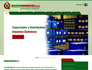macroquimicos.com screenshot