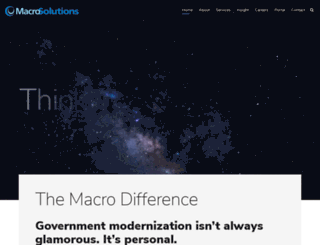 macrosolutions.com screenshot