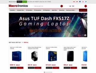 macrotronics.net screenshot