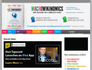 macrowikinomics.com screenshot