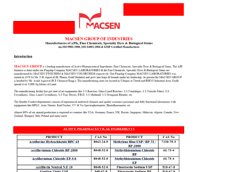 macsengroup.com screenshot