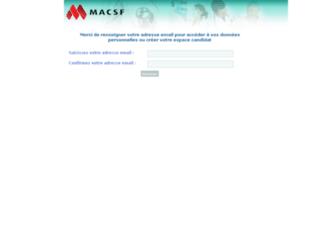 macsf.profilsearch.com screenshot