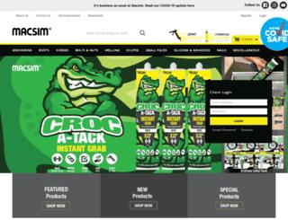 macsim.com.au screenshot