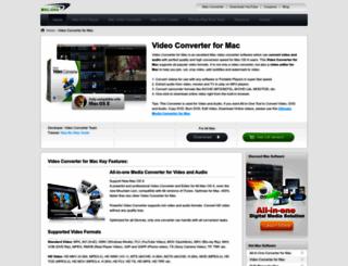 macvideoconverter.mac-dvd.com screenshot