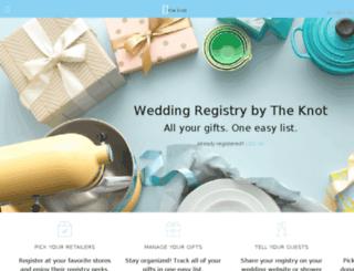 macys-registry.weddingchannel.com screenshot